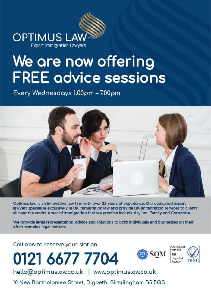 Free Advice Immigration UK